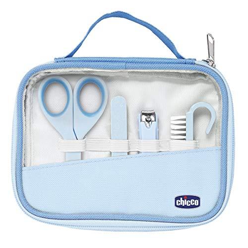 Chicco Set Manicure Bambino, Igiene e Benessere, Azzurro