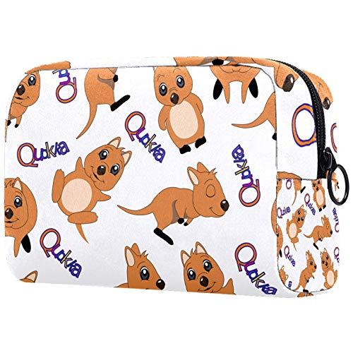 Organizer per borsa per il trucco Piccolo cosmeticoBagsforWomen Travel Toiletry Bag Custodia per il trucco Borsa borsetta Cute Quokka Animal Australia