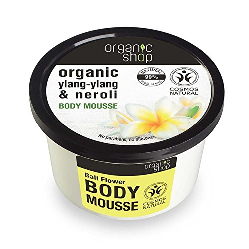 Organico Shop Bali Flower Body mousse, 250ml