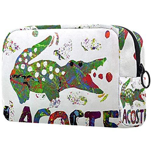 Borsa cosmetica da donna per articoli da toeletta e gioielli, 18,5 x 7,5 x 13 cm Lacoste, borse da viaggio per cosmetici e pennelli in PVC