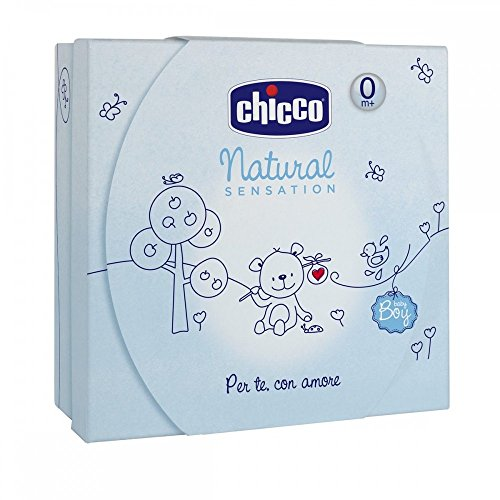 Chicco Olio Bagno e Crema Corpo Natural Sensation, Blu - 400 ml