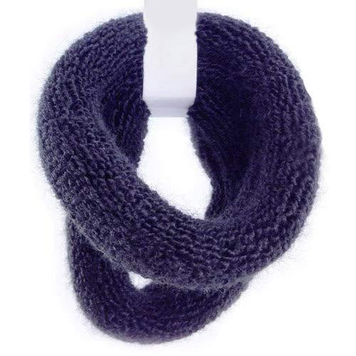 8161-001 - Set 2 maxi elastici per capelli spugna made in Italy cm 2 x diametro cm 7 colore nero