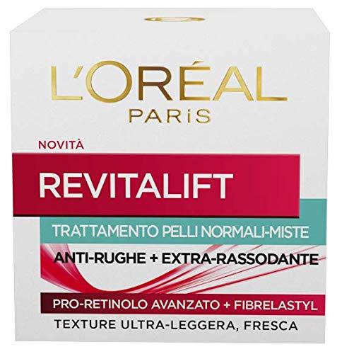 L'Oréal Paris Revitalift Crema Viso Anti-Rughe e Extra-Rassodante - 50 ml