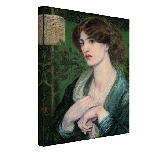 Bilderwelten Stampa su Tela - Dante Gabriel Rossetti - Beatrice - Verticale 4:3 Quadri su Tela Stampe su Tela Tela Canvas Quadri Moderni, Misura (AxL):160cm x 120cm