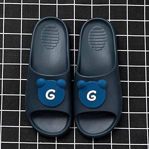 Kirin-1 Ciabatte Infradito Uomo,Pantofole deodoranti del Cuscino Stepping Anti-Skid maschile-42-43_F.