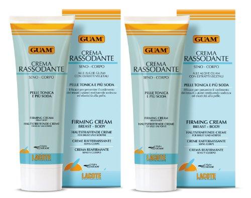 Guam - Crema tonificante per petto e corpo, 2 x 250 ml