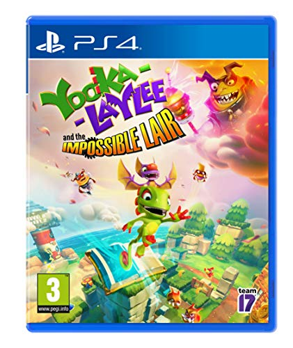 Yooka-Laylee and The Impossible Lair - PlayStation 4 [Edizione: Regno Unito]