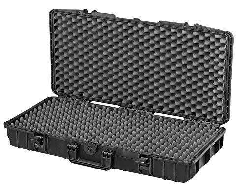 Max Cases - Valigetta a Tenuta Stagna, Ermetica con Spugne Bugnate per Trasportare e Proteggere Apparecchiature e Materiali Sensibili, MAX800GPB, Dimensioni Interne 800 x 370 x 140 mm