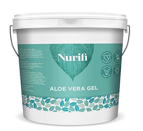 Nurifi - 1KG 99% Gel di Aloe Vera