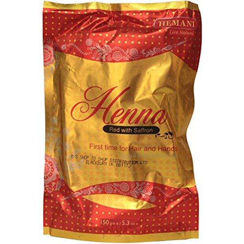 Hemani Henna, Rosso con zafferano