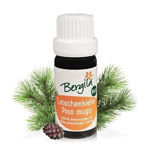 Bergila olio essenziale PINO MUGO BIO, 10 ml - 100% naturale di materia prima biologica - qualità controllata e certificata