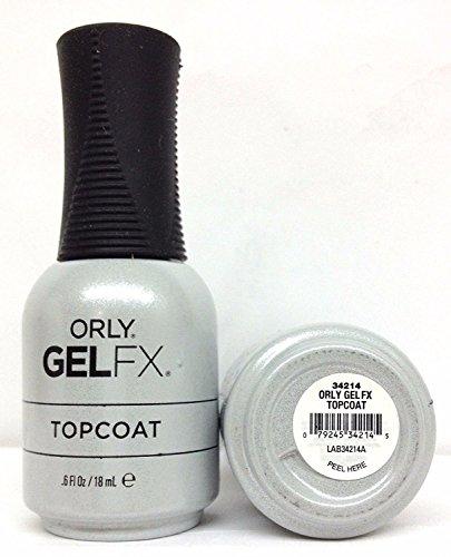 Gel FX Top Coat Salon - Smalto per unghie, 18 ml
