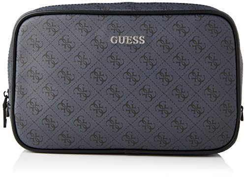 Guess VEZZOLA NECESSAIRE, Backpack Uomo, Coal, One Size