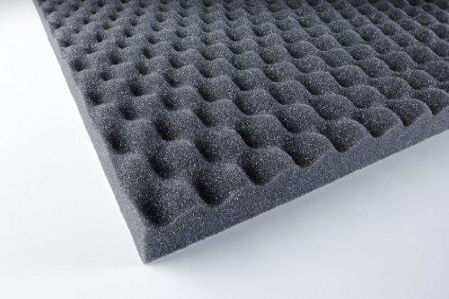 Pannello fonoassorbente poliuretano liscio PU Plan 20 autoadesivo (adesivo)