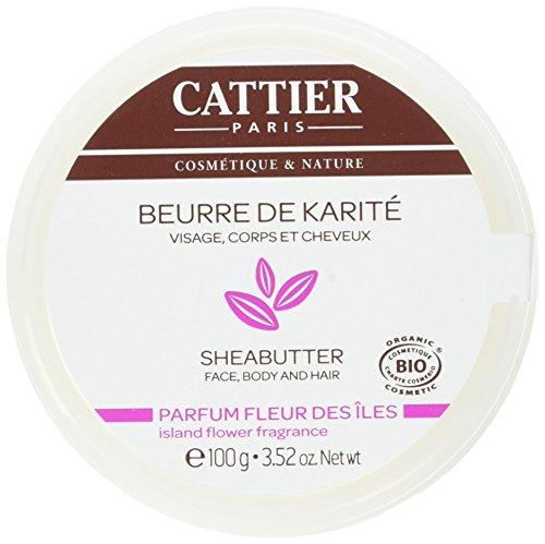 Isole Profumo Cattier burro di karitè 100g Fleur
