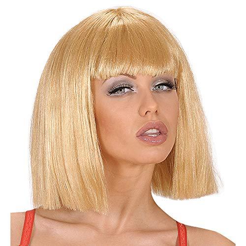 WIDMANN - Parrucca Showgirl Bionda In Sacchetto, Party E Carnevale 512, multicolore, Taglia Unica