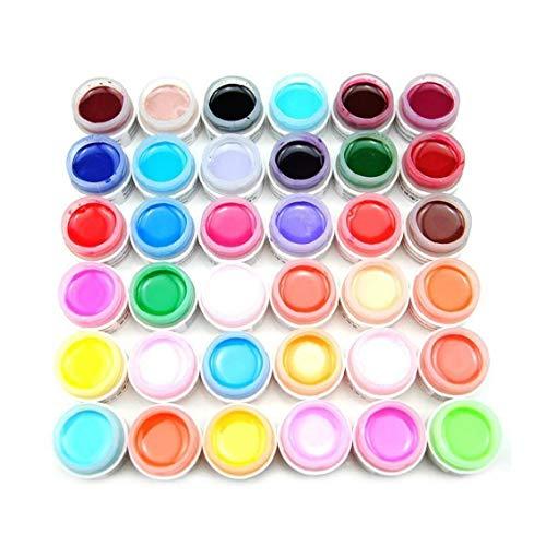 36 colori di chiodo Pittura polacco del gel Soak Off Scultura gel UV fai da te Nail Supplies smalto delle unghie