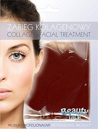BEAUTY FACE - Trattamento viso al Collagene e al Cioccolato Fondente - Nutriente e rilassante - Per pelli secche o poco idratate - 60 gr