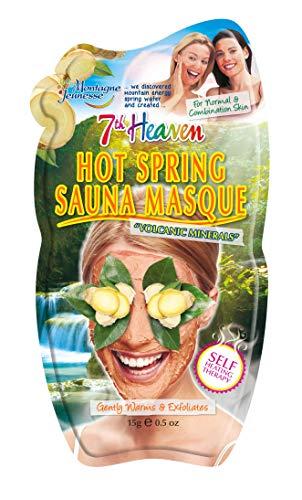 7 ° cielo caldo primavera sauna viso maschera 15g