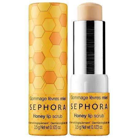 Sephora Collection, scrub al miele per le labbra, esfoliante e ammorbidente (Scrub) (etichetta in lingua italiana non garantita)