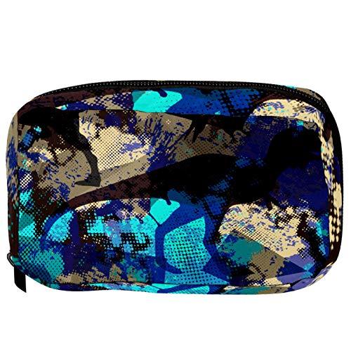Sacchetti cosmetici Dinosaur Camo militare Handy Toiletry Travel Bag Oragniser Makeup Pouch per donne e ragazze