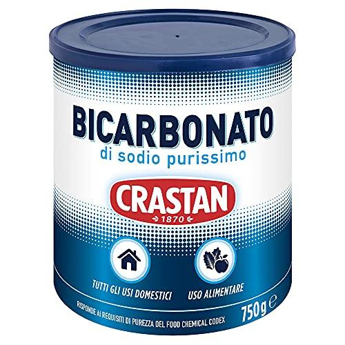Bicarbonato di sodio ad uso alimentare - Barattolo richiudibile - Confezione da 6 barattoli da 750 gr - Totale 4,5 kg
