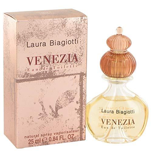 Venezia by Laura Biagiotti Eau De Toilette Spray .84 oz / 25 ml (Women)