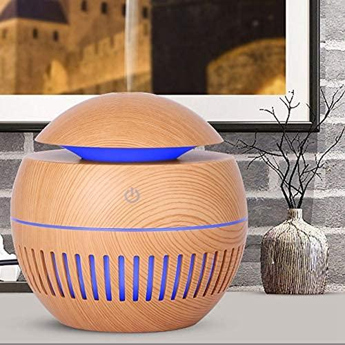 Tiamu Diffusore di Aromi, Diffusore di Olio Essenziale, Umidificatore Diffusore di Aromi con Luce LED per Camera da Letto, Ufficio, Yoga