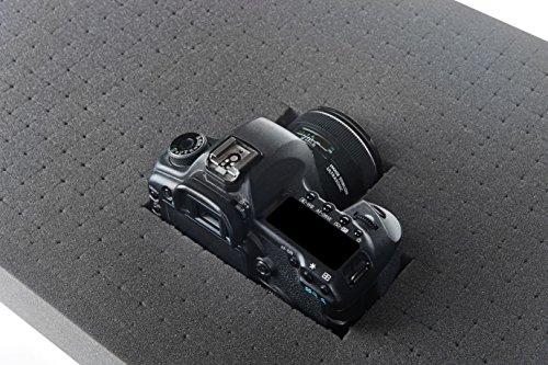 Pannelli di gommapiuma a cubetti per valigie per attrezzi o valigie per fotocamere 500mm x 350mm x 45mm