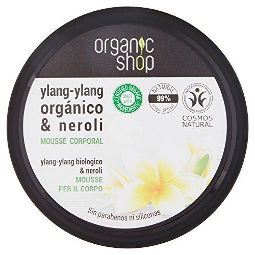 Mousse Corpo all' Ylang - Ylang biologico & Neroli Organic Shop, 250ml