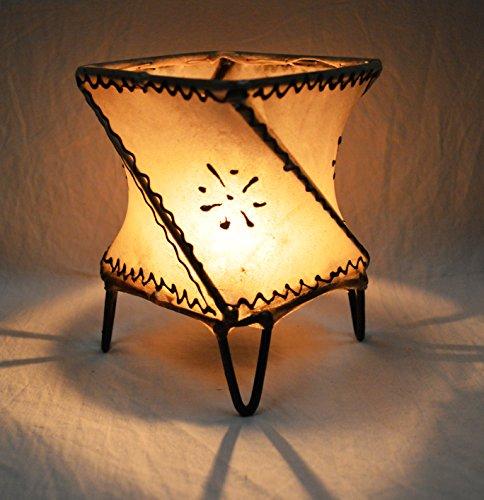 henné marocchino candela holder-ball- 15cm crema