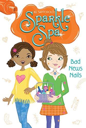 Bad News Nails (Sparkle Spa Book 5) (English Edition)