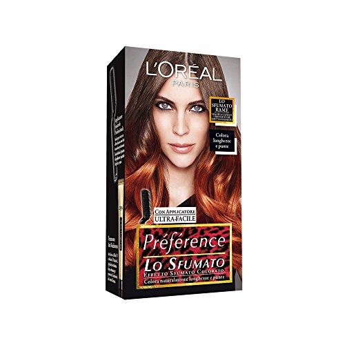 L'Oréal Paris Préférence Lo Sfumato, Colorazione Effetto Sfumato, Colorato Rame