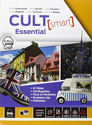 Cult [smart] essential. Student's book-Workbook. Per le Scuole superiori