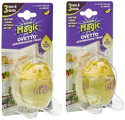 Mister Magic Ovetto Assorbi Odori Limone - 2 Pezzi