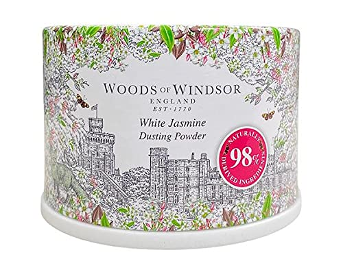 Woods of Windsor, White Jasmine, Talco in polvere