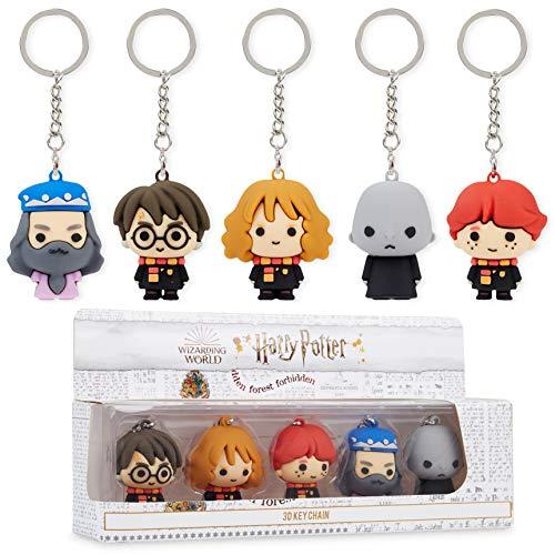 HARRY POTTER Gadget, Portachiavi da Collezione con I Personaggi, Hermione, Ron, Silente, Voldemort