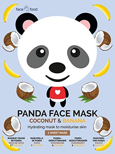 7TH HEAVEN PANDA FACE MASK COCONUT & BANANA | MASCHERA VISO IN TESSUTO IDRATANTE
