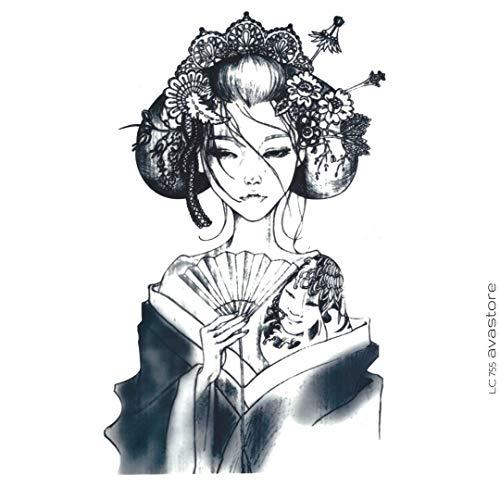 Tatuaggio Temporaneo - Tatuaggio Geisha