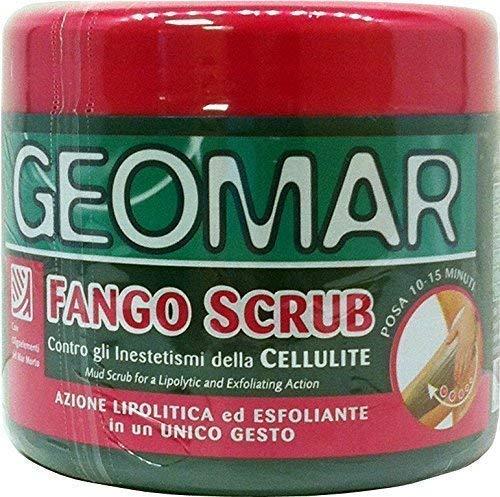6 x GEOMAR Fango Scrub A/Cellulite Az.Lipolitica&Esfolian.600 Gr