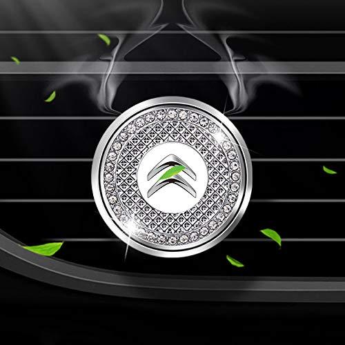 HEYCASE Deodorante per Auto rimuove l'odore dell'auto, l'ornamento del Diamante dell'auto, Il Profumo per l'uscita dell'Aria dell'auto, per Citro-en
