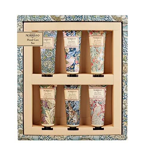 Morris & Co biblioteca di stampe Hand Care set 6x 30ML crema mani