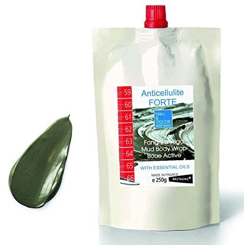 Fango d'Alga y Olio Essenziale di Rosmarino Riducente ● Maschera Corpo (perdita di peso, ridurre la cellulite), Gambe 250 g