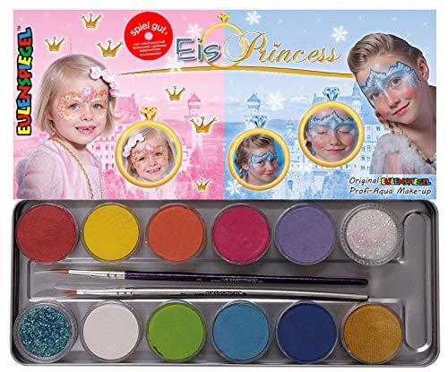 Specchio del gufo in metallo per trucco palette Ice Princess, 14pezzi