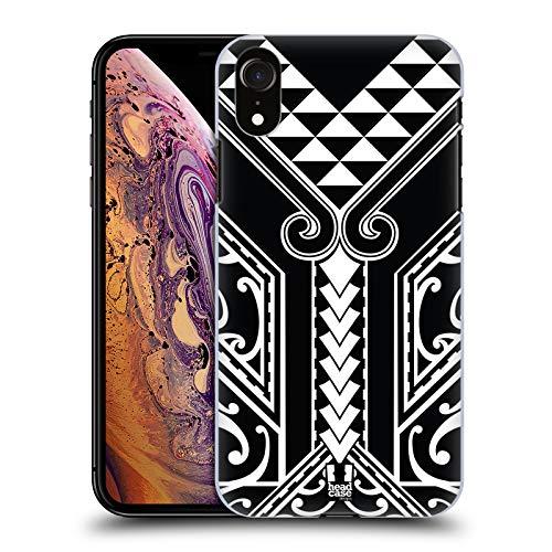 Head Case Designs Triangolo Tribale Tatuaggi Samoani Cover Dura per Parte Posteriore Compatibile con Apple iPhone XR