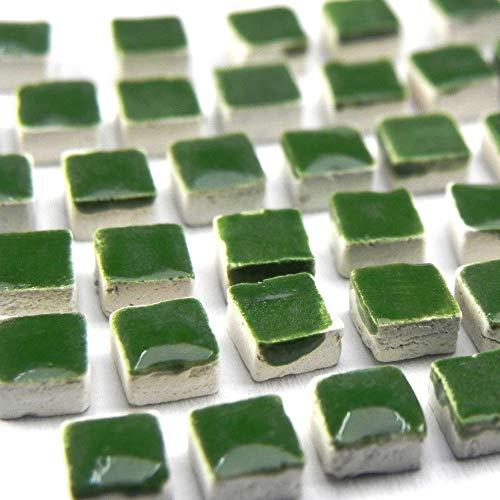 Mini Mosaico (5x5x3mm), 1000 pezzi foglia verde, WG01