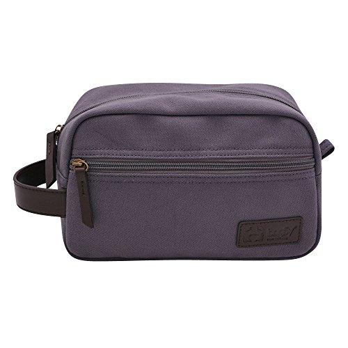 BagSy Crab Your Bag - Borsa da toilette di alta qualità | Accesori da viaggio | Beauty Travel Case | Borsa da viaggio ultraleggera, impermeabile e spaziosa per uomini e donne | Blu (grigio)