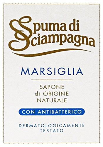 Marsiglia Spuma Di Sciampagna Saponetta Cosmetici - 24 x 125 g, Totale: 3000 g