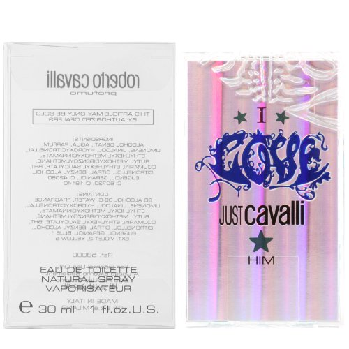 Roberto Cavalli I love just Cavalli Him Eau de Toilette Spray 30 ml