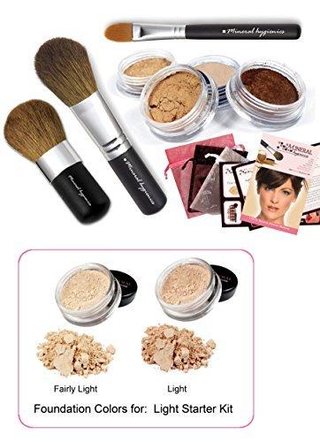 Mineral Hygienics Mineral Makeup Starter Kit - Light by Mineral Hygienics